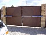 Распашные автоматические ворота Doorhan