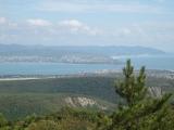 Вид с горы на Геленджик