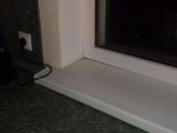 Большой зазор между подоконником и окном