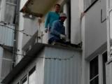 Демонтировали старый балкончик