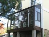 Остеклили балкон в доме