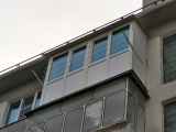 Балкон сделан хорошо!