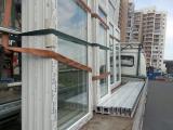 Доставляем окна Schuco к месту монтажа