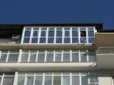 Работа готова, вышел красивый балкон, заказчик доволен!