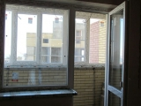 Балконный блок и балкон