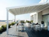 Пергола у дома на берегу Черного моря