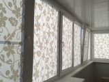 Рулонные шторы «Комфорт» с рисунком