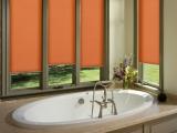 Оранжевые рулонные шторы