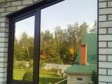 Окно с зеркальным остеклением