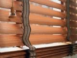 Красивые деревянные жалюзи